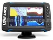 Эхолот-картплоттер Lowrance Elite-7 Ti Mid/High/TotalScan